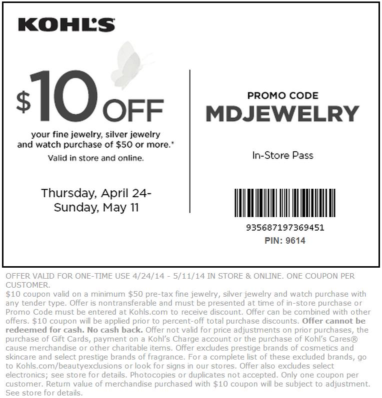 30 coupon code for kohls july 2018