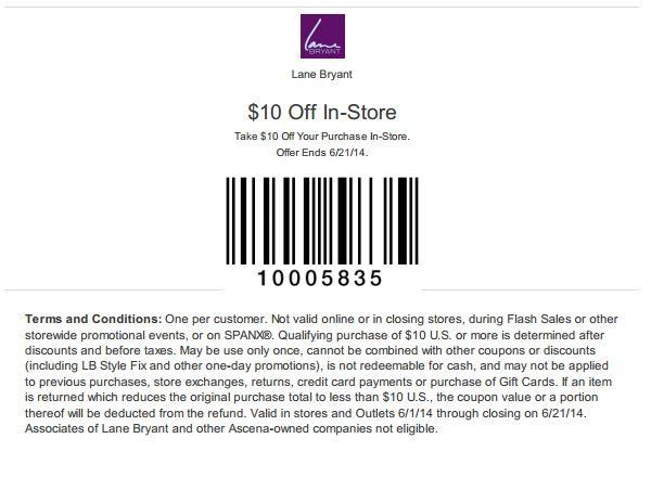 image relating to Lane Bryant Printable Coupons identify Bryant brylane house discount coupons / Bjs coupon guide january 2018