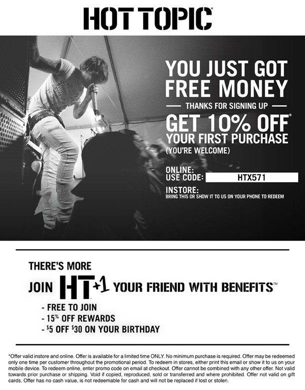 graphic regarding Hot Topic Printable Coupons titled Scorching subject matter discount codes promo codes / Proflowers cost-free transport