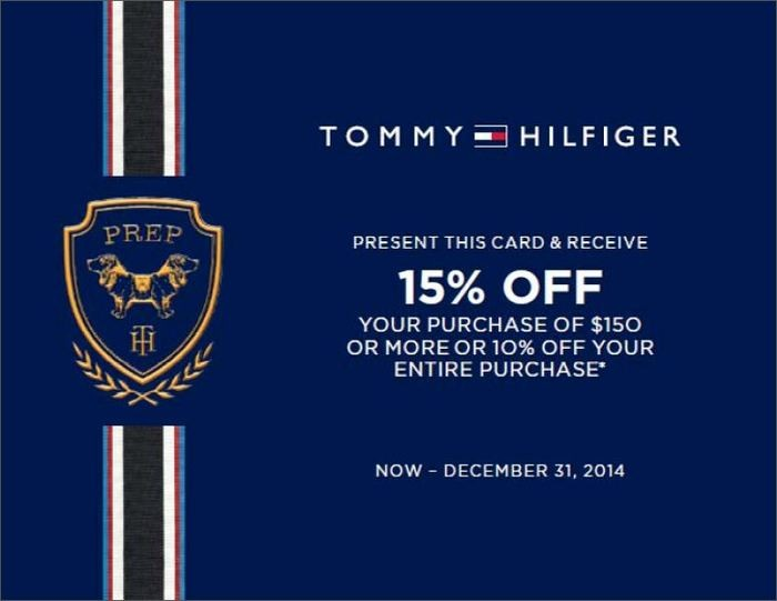 picture relating to Tommy Hilfiger Coupon Printable named What we discovered out: Tommy Hilfiger Coupon codes Printable 2011