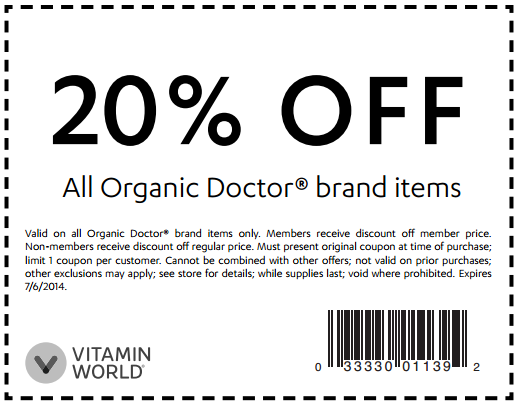 Vitamin world coupon code