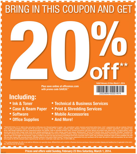Modells coupon in store 2018