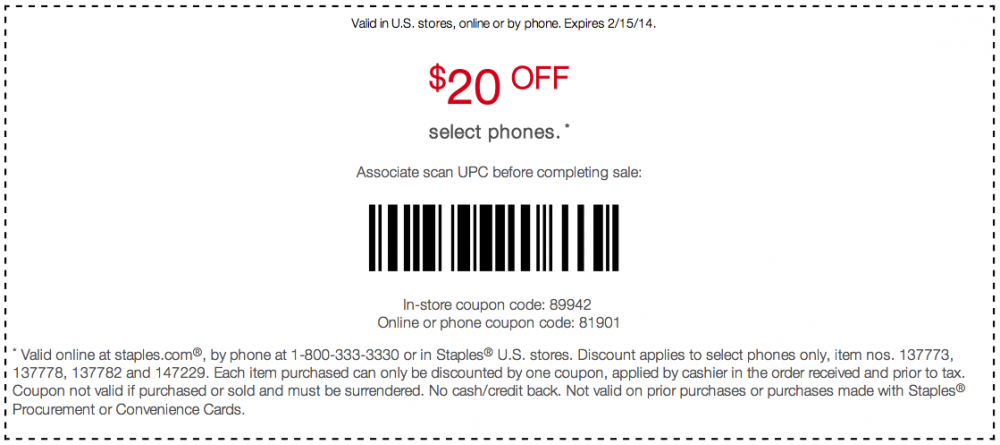 Staples Copy Coupon