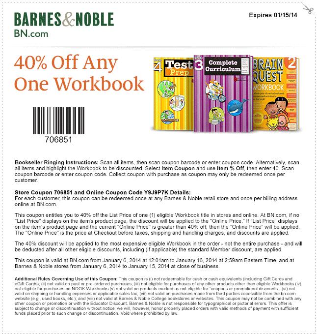 Bn coupon printable 2018