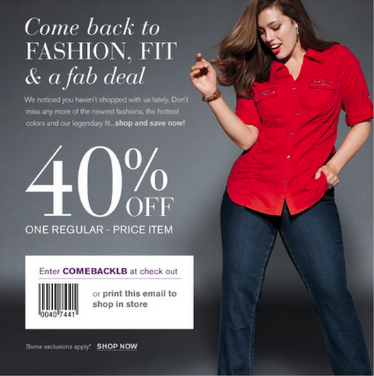 Lane bryant coupons in store december 2018