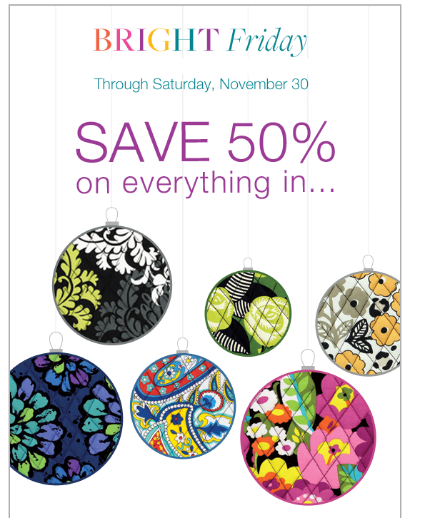 Coupon codes for vera bradley