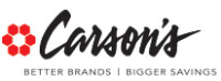 Carsons Coupon Codes, Promos & Sales