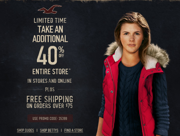 Promo codes hollister august 2013