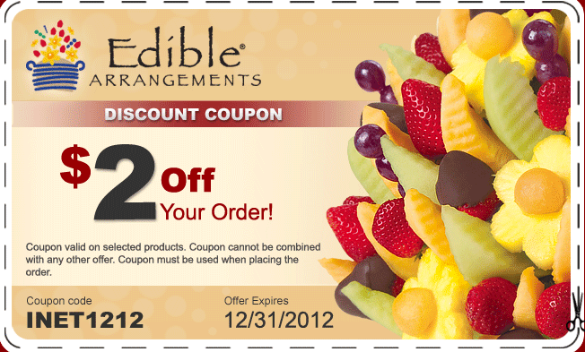 Edible arrangements coupon code free shipping